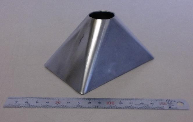 レーザー加工 ステンレスt1.0 ホッパー