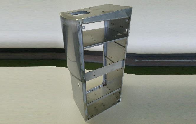 溶接加工 ステンレス 外装カバー